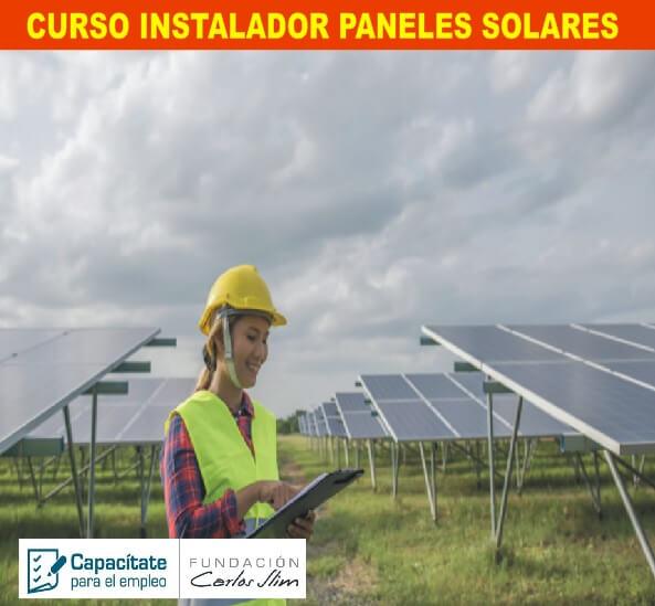CURSO INSTALADOR PANELES SOLARES
