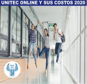 UNITEC ONLINE Y SUS COSTOS 2020